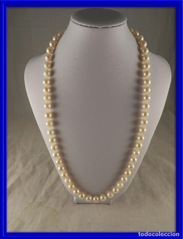 49b5dd61cb40 Collar de perlas de nacar con broche de oro de - Vendido en Venta ...