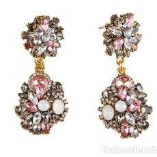 Jewelry - PENDIENTES LARGOS CON PIEDRAS PRECIOSAS - 123106103