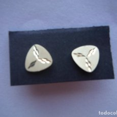 Jewelry - PENDIENTES ORO AMARILLO 18K FORMA TRIANGULAR - 123758923