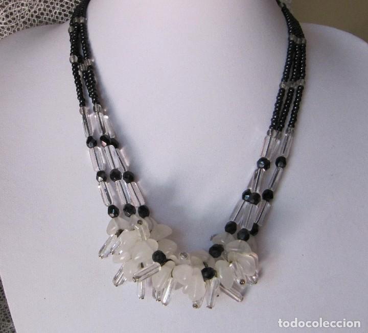 Joyeria: collar de cristal checo años 60 - Foto 2 - 124282247
