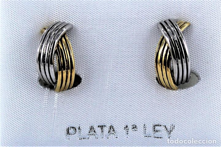 Joyeria: PENDIENTES DE PLATA DE LEY NUEVOS - Foto 2 - 124496275