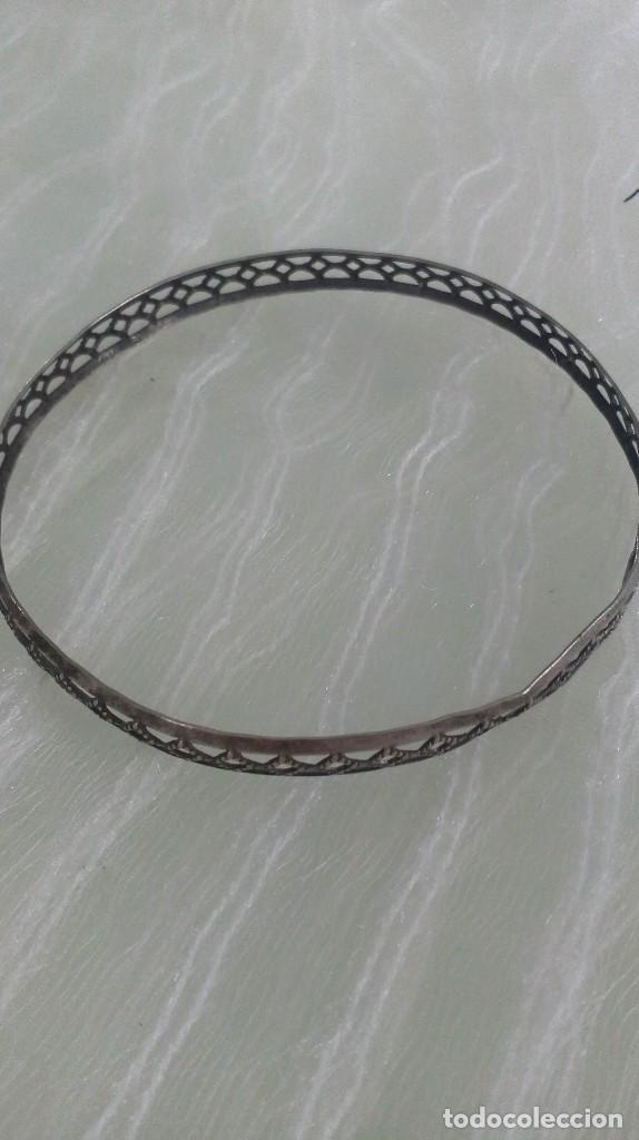 Joyeria: lote de 2 pulseras plateadas - Foto 5 - 125266139