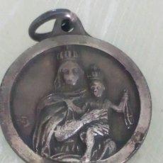 Joyeria - Medallita escapulario de plata de la Virgen del Carmen y el Sagrado Corazón de Jesús - 125266539