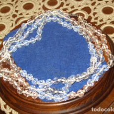 Joyeria: COLLAR LARGO DE CRISTAL FACETADO.. Lote 126184567