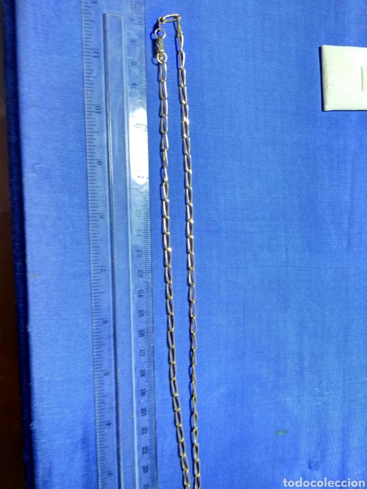 Joyeria: Cadena oro 18 kilates eslabon grueso 50 cm., CONTRASTE ORO OFICIAL - Foto 2 - 126437511