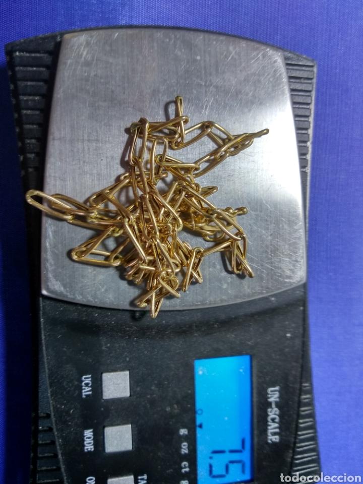 Joyeria: Cadena oro 18 kilates eslabon grueso 50 cm., CONTRASTE ORO OFICIAL - Foto 5 - 126437511