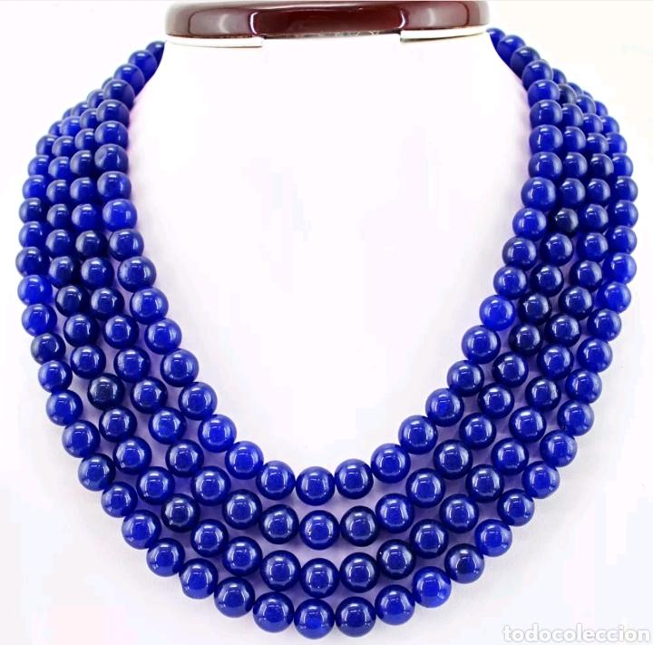 Joyeria: Collar de ZAFIROS naturales - Foto 3 - 128075348