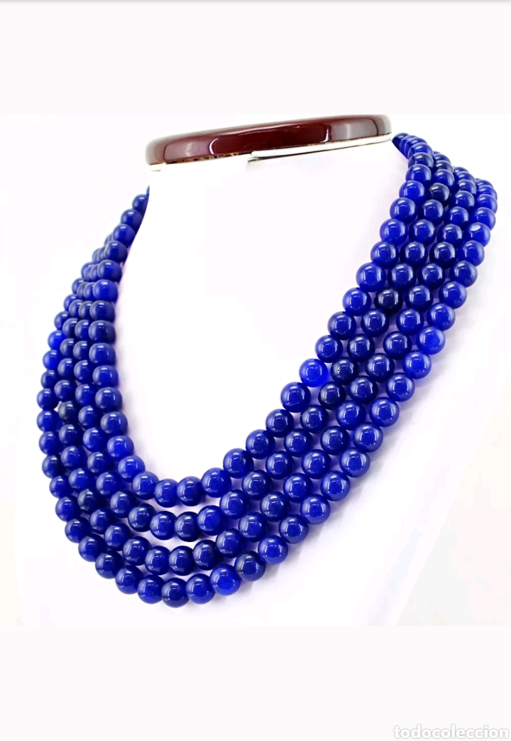 Joyeria: Collar de ZAFIROS naturales - Foto 4 - 128075348