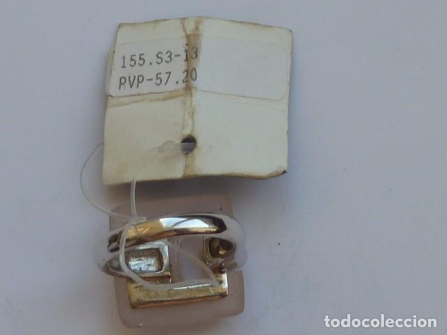 Joyeria: ANILLO VINTAGE PLATA DE 925 MM CON pidra traslucida blanca rosacea, costaba 57,20 euros - Foto 3 - 128292275