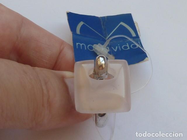 Joyeria: ANILLO VINTAGE PLATA DE 925 MM CON pidra traslucida blanca rosacea, costaba 57,20 euros - Foto 4 - 128292275