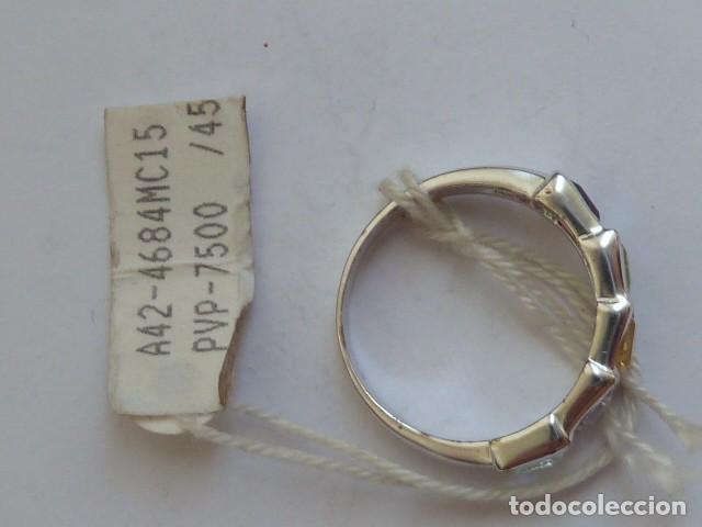 Joyeria: ANILLO VINTAGE PLATA DE 925 MM Con circonidas de varios colores, costaba 45,08 euros - Foto 3 - 128293127
