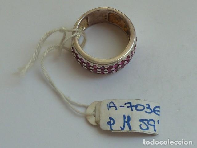 Joyeria: ANILLO VINTAGE PLATA DE 925 MM Con circonitas tipo rubies, costaba 59,38 euros - Foto 2 - 128293767