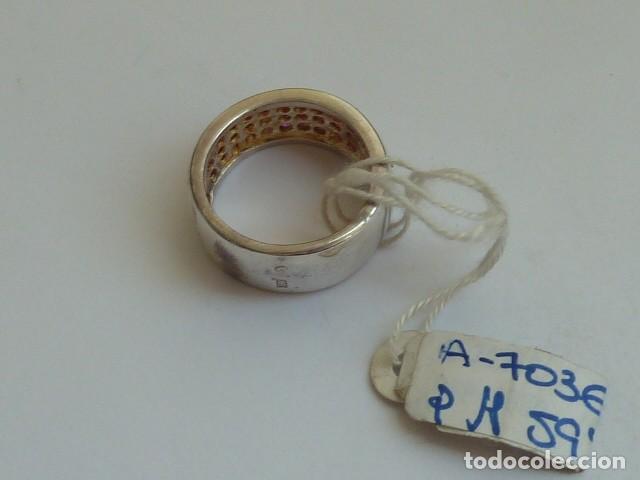 Joyeria: ANILLO VINTAGE PLATA DE 925 MM Con circonitas tipo rubies, costaba 59,38 euros - Foto 3 - 128293767