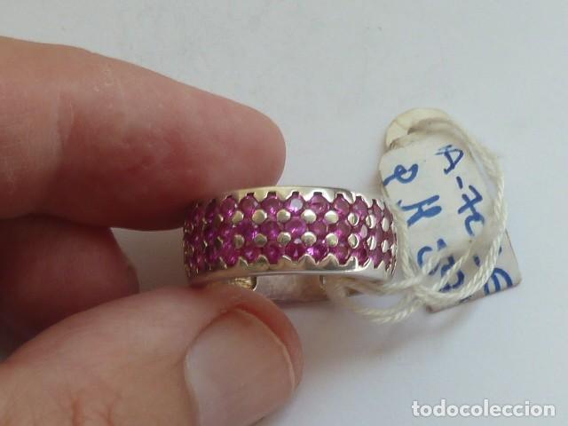 Joyeria: ANILLO VINTAGE PLATA DE 925 MM Con circonitas tipo rubies, costaba 59,38 euros - Foto 4 - 128293767