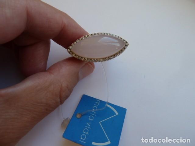 Joyeria: ANILLO VINTAGE PLATA DE 925 MM dorada de la marca Maria Vidal, costaba 127,60 euros, circonitas y pi - Foto 2 - 128374371