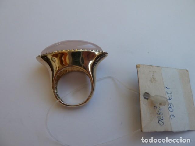 Joyeria: ANILLO VINTAGE PLATA DE 925 MM dorada de la marca Maria Vidal, costaba 127,60 euros, circonitas y pi - Foto 3 - 128374371