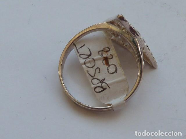 Joyeria: ANILLO de PLATA DE 925 MM CON CIRCONITAS BLANCAS Y negras, costaba 19 EUROS - Foto 3 - 128572555