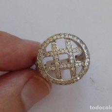 Joyeria: ANILLO DE PLATA DE 925 MM CON CIRCONITAS BLANCAS COSTABA 34 EUROS. Lote 128572767