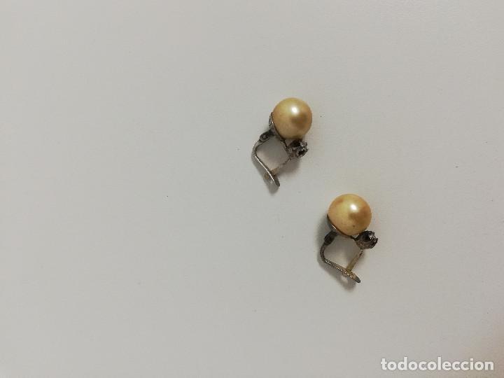 Joyeria: Antiguos pendientes de plata. - Foto 5 - 128672267
