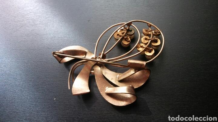 Joyeria: Broche dorado con perlas - Foto 2 - 130105354