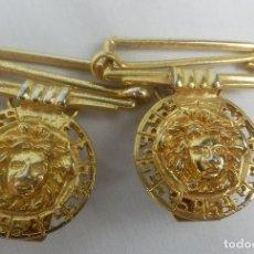 Joyeria: HEBILLAS VINTAGE DE TIRANTES MEDUSA. Lote 130265882