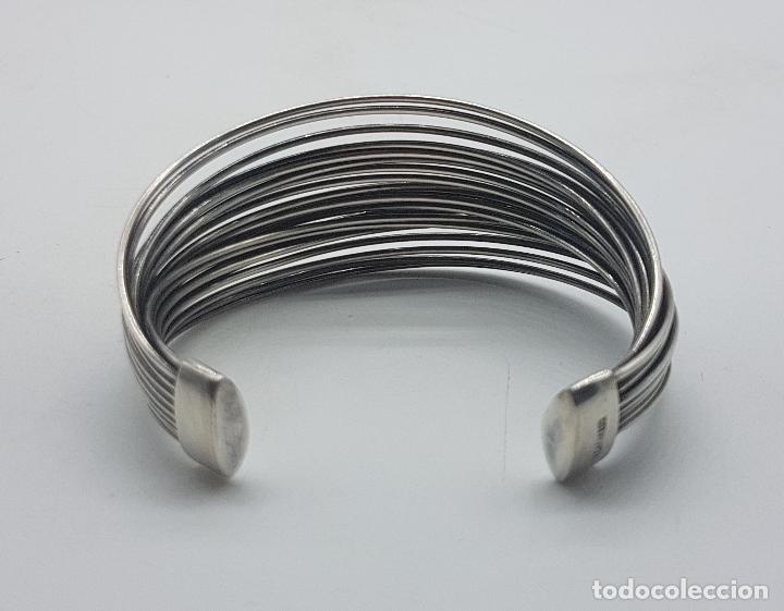 Joyeria: Gran brazalete de diseño en plata de ley sellado de la prestigiosa firma Victor Caparros . - Foto 3 - 130579482