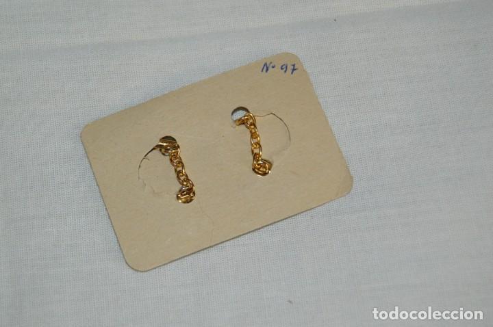 Joyeria: Pareja de GEMELOS - Damasquinado Toledano - A estrenar - Oro de 24 kt incrustado - Muy antiguo - L04 - Foto 3 - 179155017