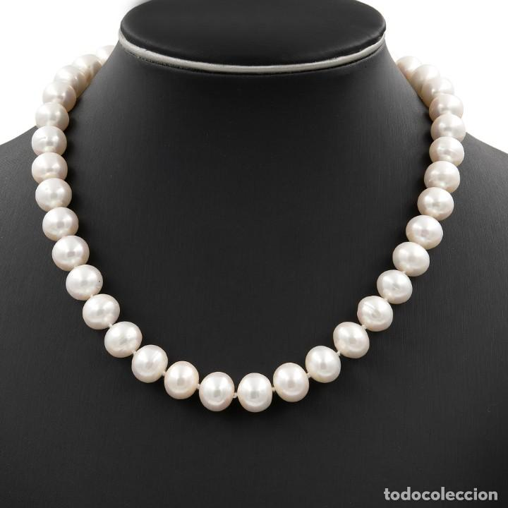 Joyeria: Collar de Perlas Australianas de los Mares del Sur con cierre de Oro 18k y DiamantesBG - Foto 2 - 133079134