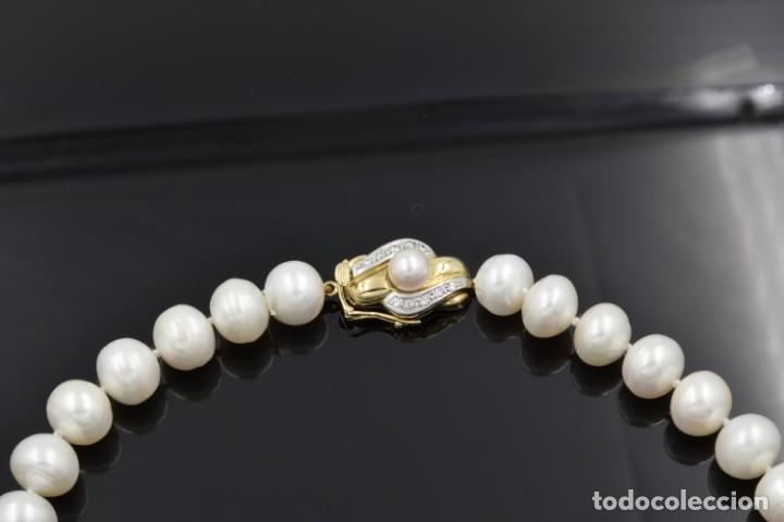 Joyeria: Collar de Perlas Australianas de los Mares del Sur con cierre de Oro 18k y DiamantesBG - Foto 7 - 133079134