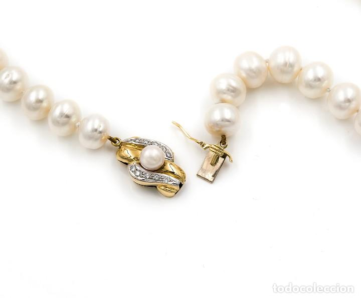Joyeria: Collar de Perlas Australianas de los Mares del Sur con cierre de Oro 18k y DiamantesBG - Foto 10 - 133079134