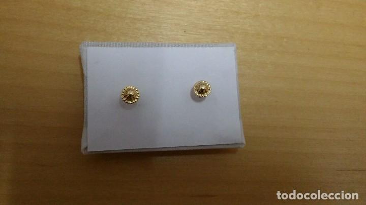 Joyeria: Pendientes de oro 18k de bebé - Foto 2 - 143701008