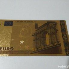 Joyeria: BILLETE ORO 5 EUROS 99,9 PURE GOLD 24K B. Lote 132349098