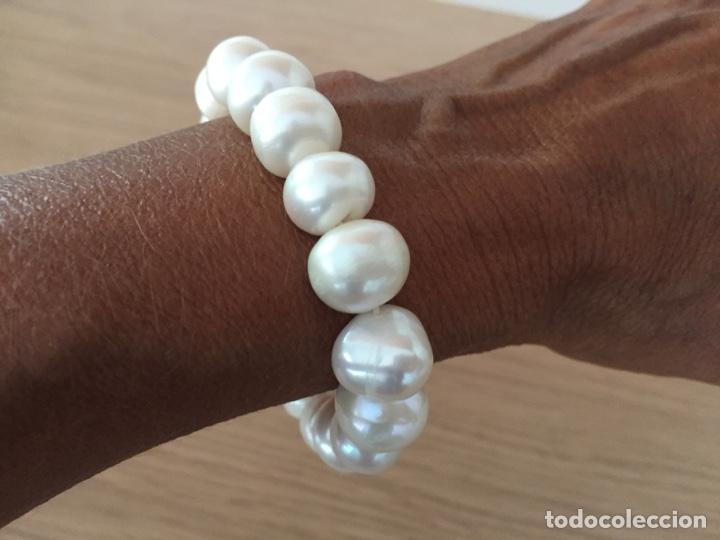 Joyeria: Pulsera de perlas barrocas - Foto 3 - 132379706