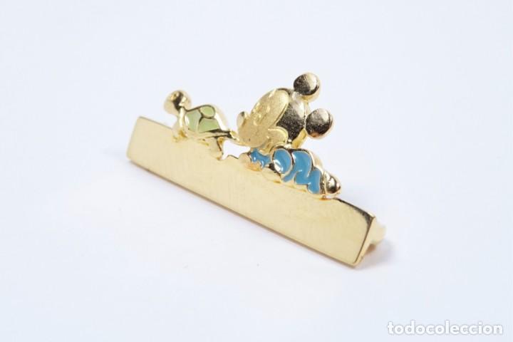 Joyeria: Broche para bebe en oro de 18 quilates, original Disney para grabar nombre - Foto 2 - 132488202