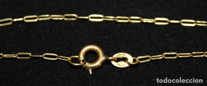 Jewelry: CRISTO EN LA CRUZ CON CADENA,DE ORO DE 18 KL. - Foto 3 - 142695760