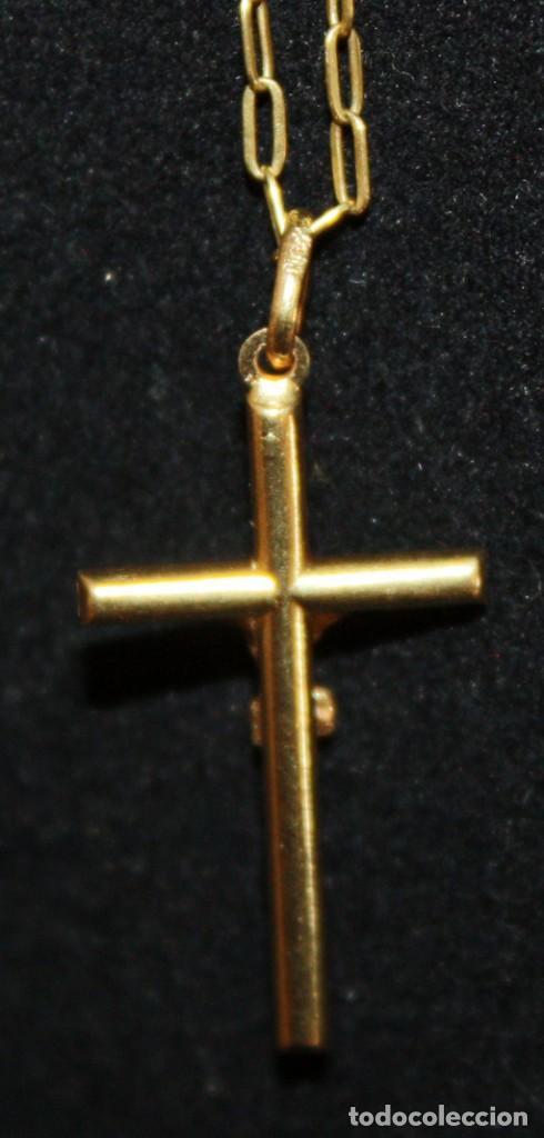 Jewelry: CRISTO EN LA CRUZ CON CADENA,DE ORO DE 18 KL. - Foto 4 - 142695760