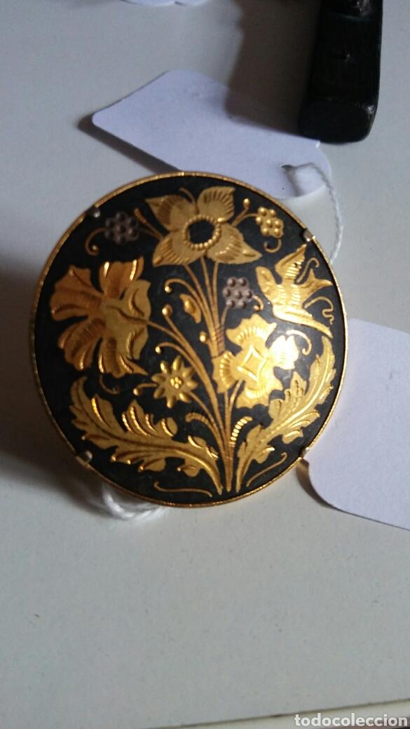 Joyeria: Broche Toledo - damasquinado - oro de Toledo - Foto 3 - 133379683