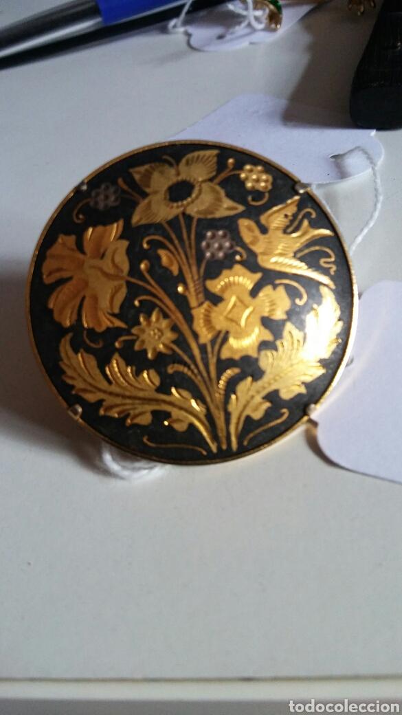 Joyeria: Broche Toledo - damasquinado - oro de Toledo - Foto 4 - 133379683