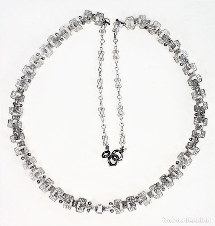cc2084cb6852 collar de señora. plata de 800 1000. españa. si - Comprar Collares ...