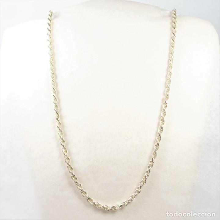 estilo exquisito a bajo precio barata nueva precios más bajos Cadena cordón en plata 925