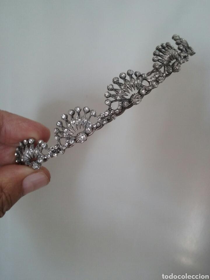 Joyeria: Tiara de plata - Foto 2 - 215404983