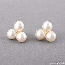 Schmuck - Pendientes Perlas Cultivadas en Forma de Trébol de Oro Amarillo 18k - 135141874