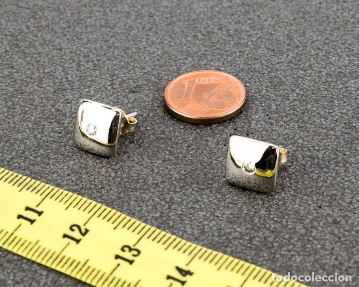 Joyeria: Pendientes Diamante y Oro de Ley 18k - Foto 4 - 135146414