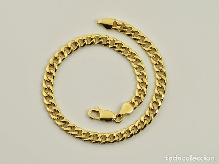 ee503b64033c pulsera brazalete de oro amarillo de 18k. longi - Comprar Brazaletes ...