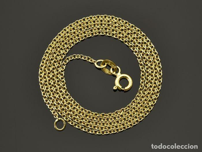 Joyeria: Collar cadena de oro de 18 quilates. Longitud 60 cm. Peso 3.95 g - Foto 2 - 135216770