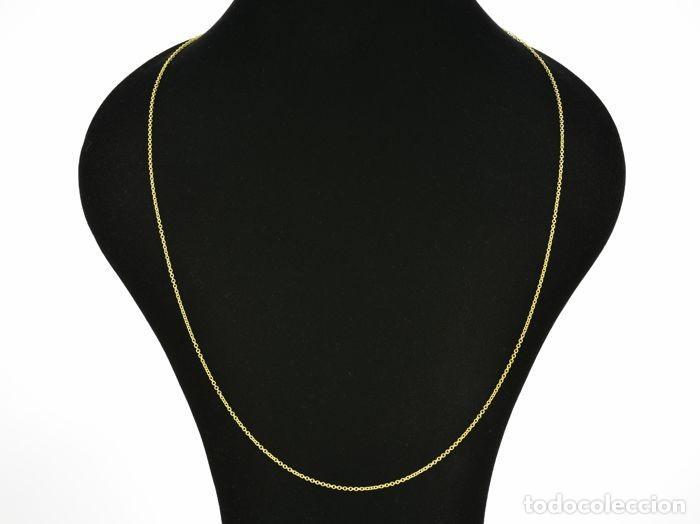 Joyeria: Collar cadena de oro de 18 quilates. Longitud 60 cm. Peso 3.95 g - Foto 3 - 135216770