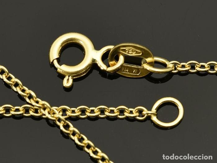 Joyeria: Collar cadena de oro de 18 quilates. Longitud 60 cm. Peso 3.95 g - Foto 4 - 135216770