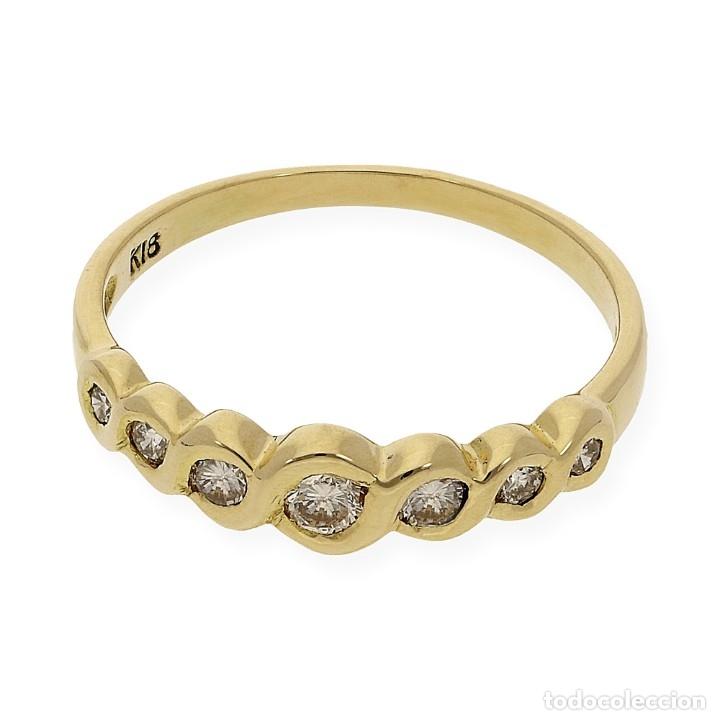 Joyeria: Anillo Diamantes y Oro de Ley 18k - Foto 5 - 172570868