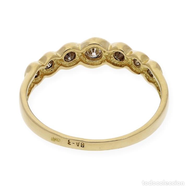 Joyeria: Anillo Diamantes y Oro de Ley 18k - Foto 8 - 172570868