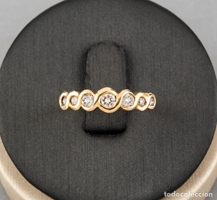 Joyeria: Anillo Diamantes y Oro de Ley 18k - Foto 4 - 172570868